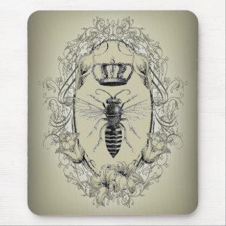 moda shabbychic de la corona de la reina de la abe tapetes de ratones