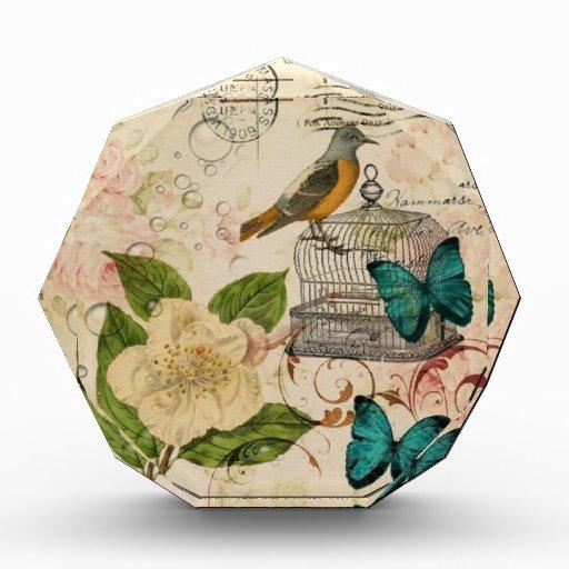 moda subió pájaro botánico francés femenino de Par