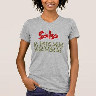 Moda T de la salsa T-shirts
