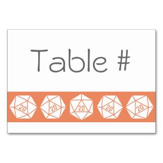 Moda tablero en la tarjeta coralina de la tabla