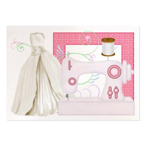 Moda/tarjeta de la costurera - SRF Tarjetas De Visita Grandes