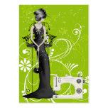 Moda/tarjeta de la costurera - SRF Plantilla De Tarjeta De Negocio