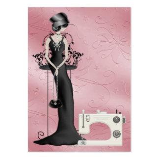 Moda/tarjeta de la costurera - SRF Tarjetas Personales