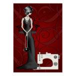 Moda/tarjeta de la costurera - SRF Plantillas De Tarjetas De Visita