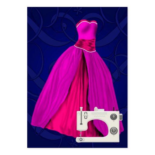 Moda/tarjeta de la costurera - SRF Tarjetas De Visita