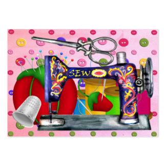 Moda - tarjeta etiqueta de la costurera - SRF Tarjetas De Visita