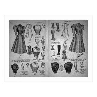 Modas de la bicicleta - catálogo del vintage postal