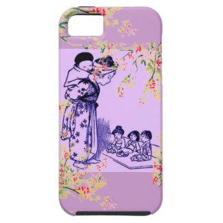 Modas del japonés del vintage iPhone 5 Case-Mate carcasa