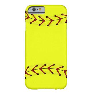 Modas del softball de Fastpitch Funda De iPhone 6 Barely There