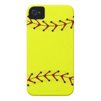Modas del softball de Fastpitch iPhone 4 Protectores