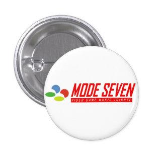 Mode 7 - band logo button