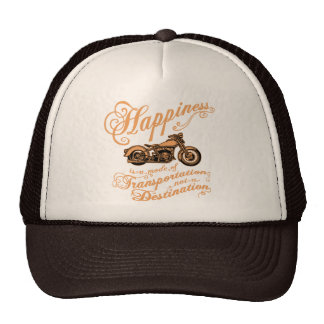 Mode of Happiness Mesh Hat