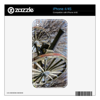 Model 1857 - Napolean Howitzer Skins For The iPhone 4