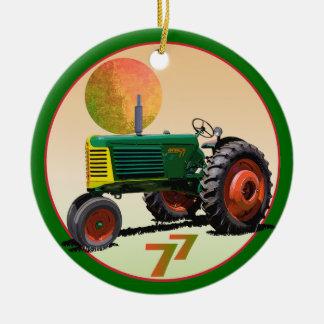 Model 77 Row Crop Ceramic Ornament