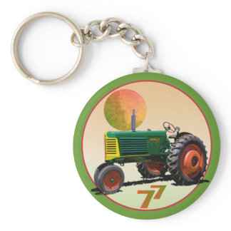 Model 77 Row Crop Keychain