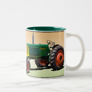 Model 77 Row Crop Two-Tone Coffee Mug