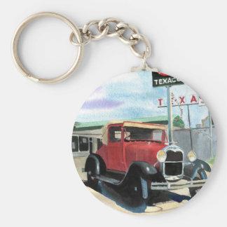 Model A Antique Car Keychain