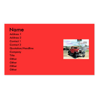 Model A Business Card