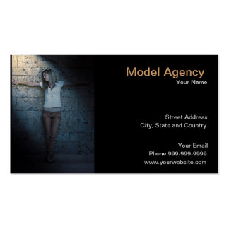 Modeling agency business cards templates zazzle for Gift card business model
