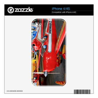 Model aircraft decals for iPhone 4