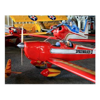 Model aircraft postcard