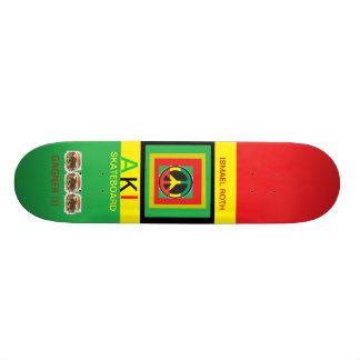 Model AKI skateboard ISMAEL ROTH