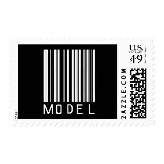 Model Bar Code Stamp