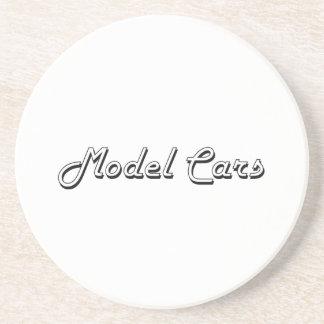 Model Cars Classic Retro Design Coasters