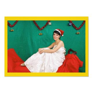 Model Christmas Invitation
