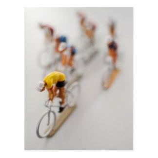 Model Cyclists Postcards