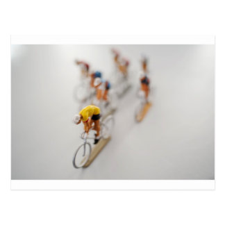 Model Cyclists Post Cards