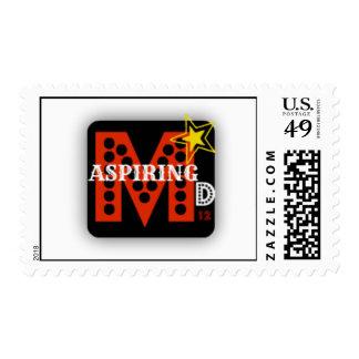 Model Dreams12 Aspiring Postage Stamp