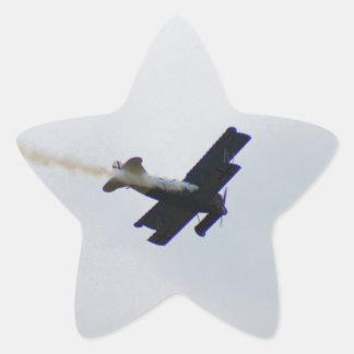 Model Fokker Making Smoke Star Sticker