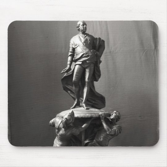 Model for the monument of Louis XV Mouse Pad