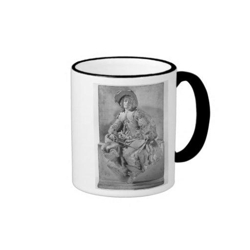 Model for the Monument to Alexandre Dumas Pere Ringer Coffee Mug