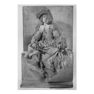 Model for the Monument to Alexandre Dumas Pere Print
