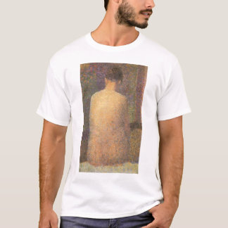 Model From Behind by Georges Seurat, Vintage Art T-Shirt
