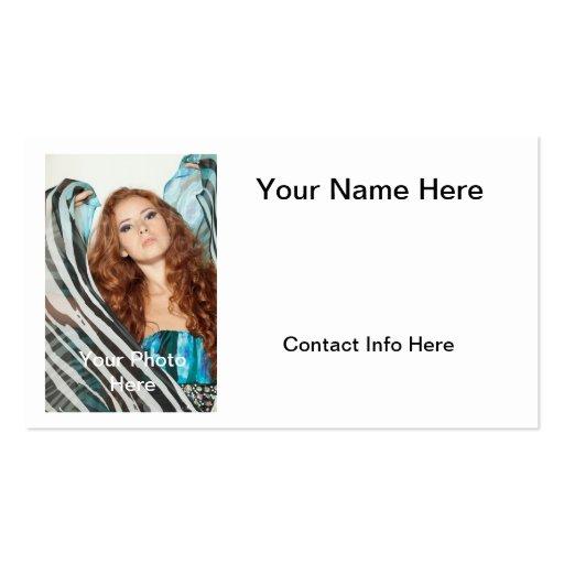 Model Headshot Business Card