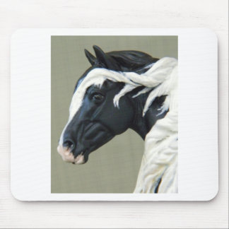 Model Horse Lovers Mouse Pad