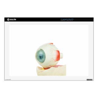 """Model human eye isolated on white background.jpg skin for 17"""" laptop"""