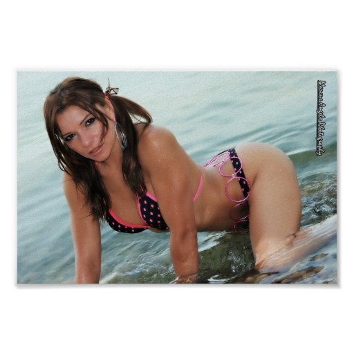 Model Lilly Ruiz Poster