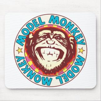 Model Monkey Mouse Pad