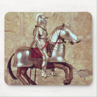 Model of a barded horse and rider, c.1640 mouse pad