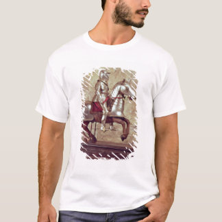 Model of a barded horse and rider, c.1640 T-Shirt