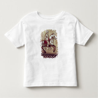 Model of a barded horse and rider, c.1640 toddler t-shirt