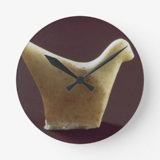 Model of a bird, early Cycladic, c.2800-2300 BC (m Round Clock