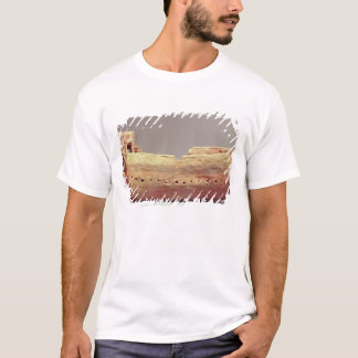Model of a boat with a high poop deck T-Shirt