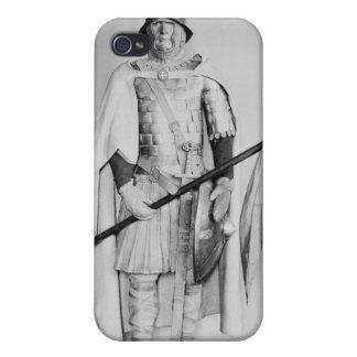 Model of a Carolingian cavalryman iPhone 4/4S Cases