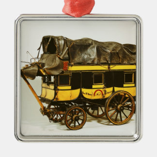Model of a forty seat omnibus christmas ornament