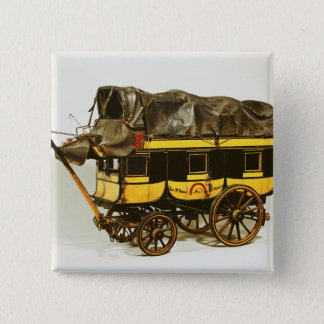 Model of a forty seat omnibus pinback button